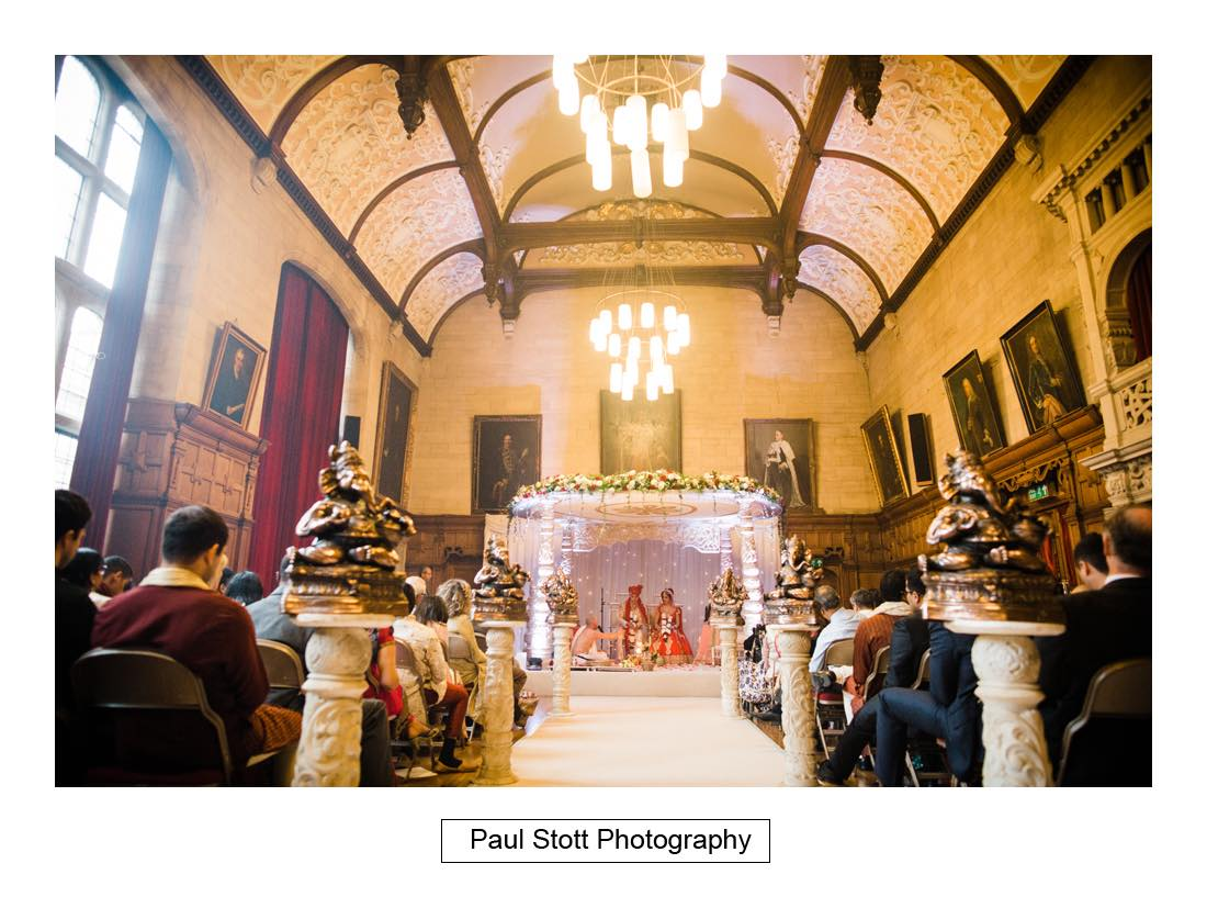 Indian wedding ceremony oxford town hall 007 - Wedding Photography Oxford Town Hall - Christian and Radhika