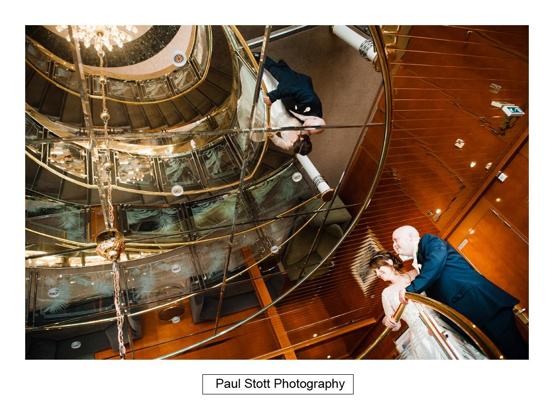 Sunborn Yacht Wedding Photography – Lisa and Steven