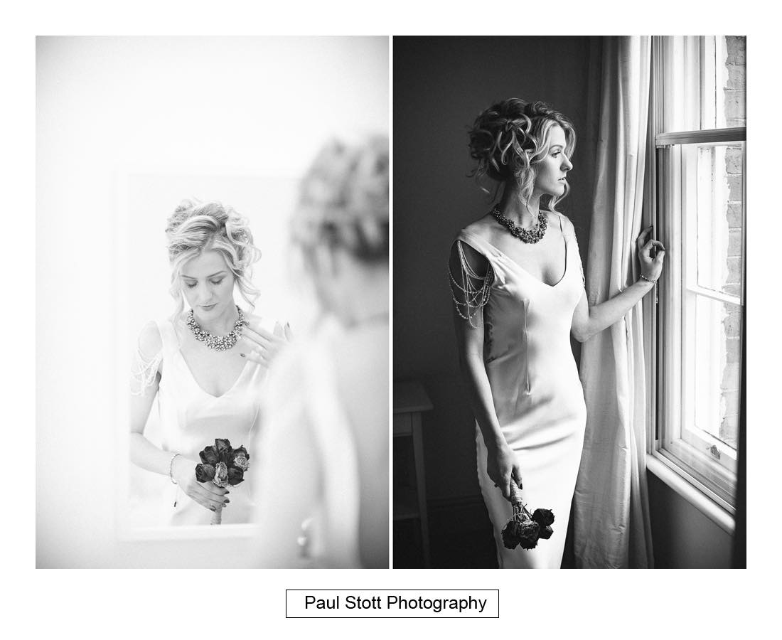 bridal portraits 001 - Wedding Photography Shrewsbury Castle - Aprille and Steven