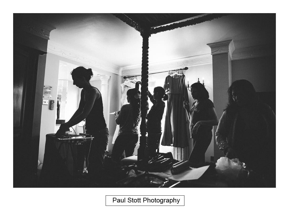 bridal wedding preparation 002 - Wedding Photography Capel Manor - Zaineb and Jonny