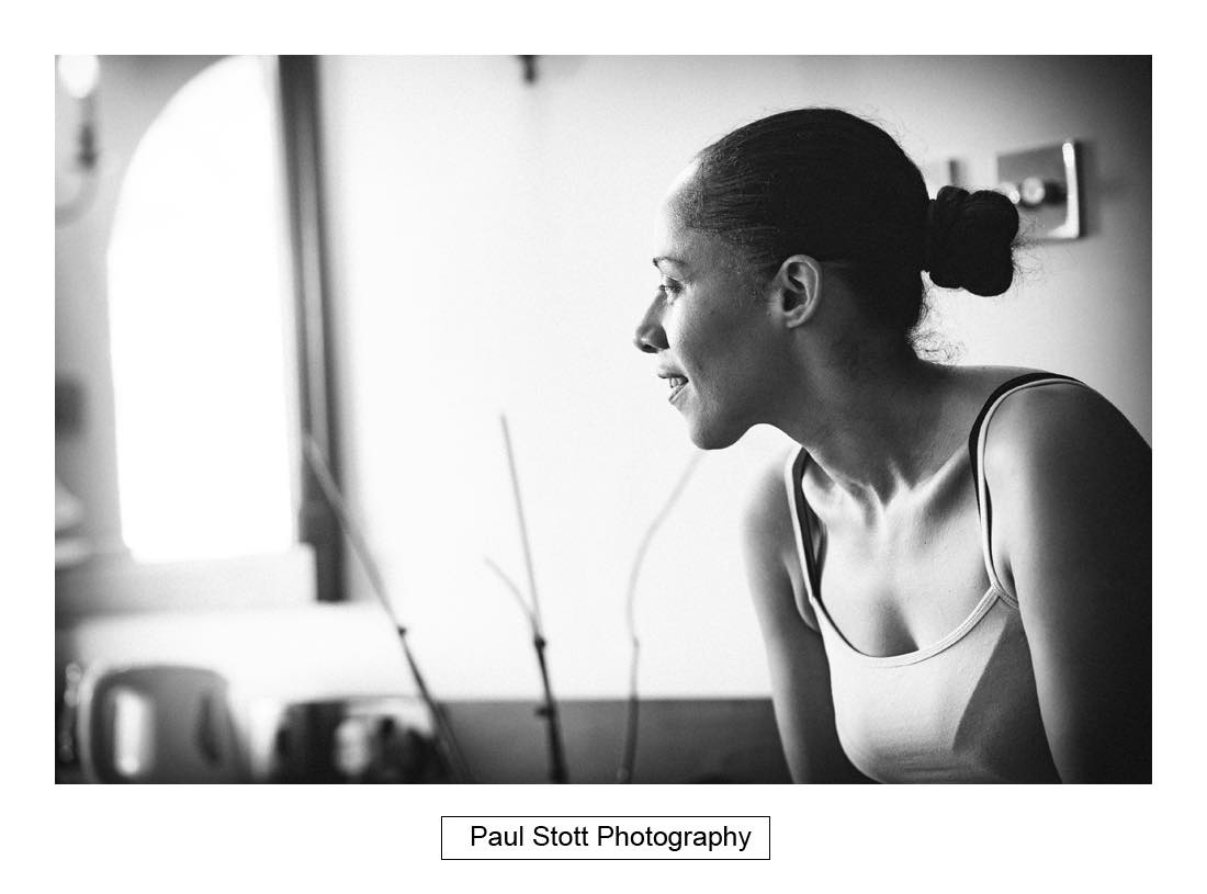 bridal wedding preparation 003 - Wedding Photography Capel Manor - Zaineb and Jonny
