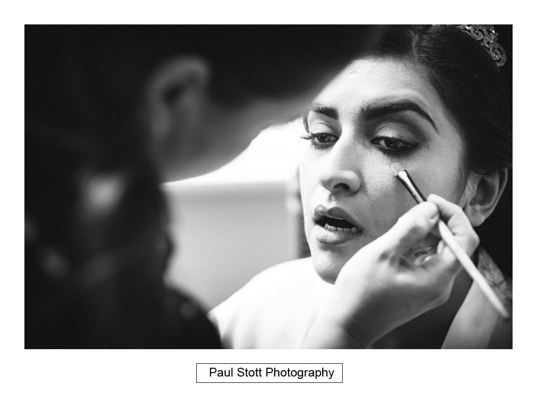 bridal wedding preparation 004 - Wedding Photography Capel Manor - Zaineb and Jonny
