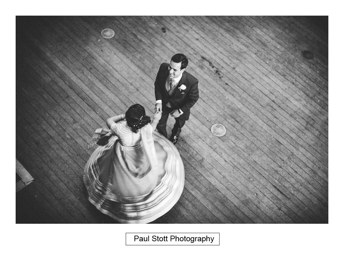 first dance - Wedding Photography Oxford Town Hall - Christian and Radhika
