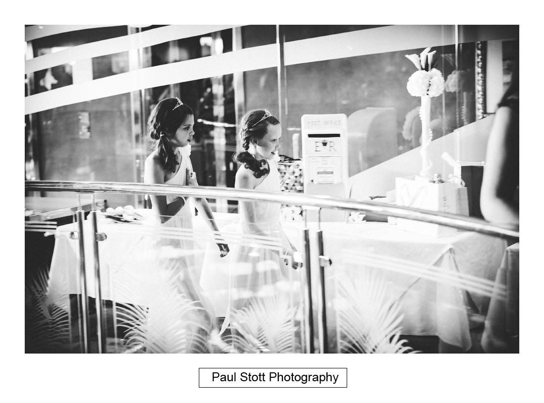 flowergirls 2 - Sunborn Yacht Wedding Photography - Lisa and Steven
