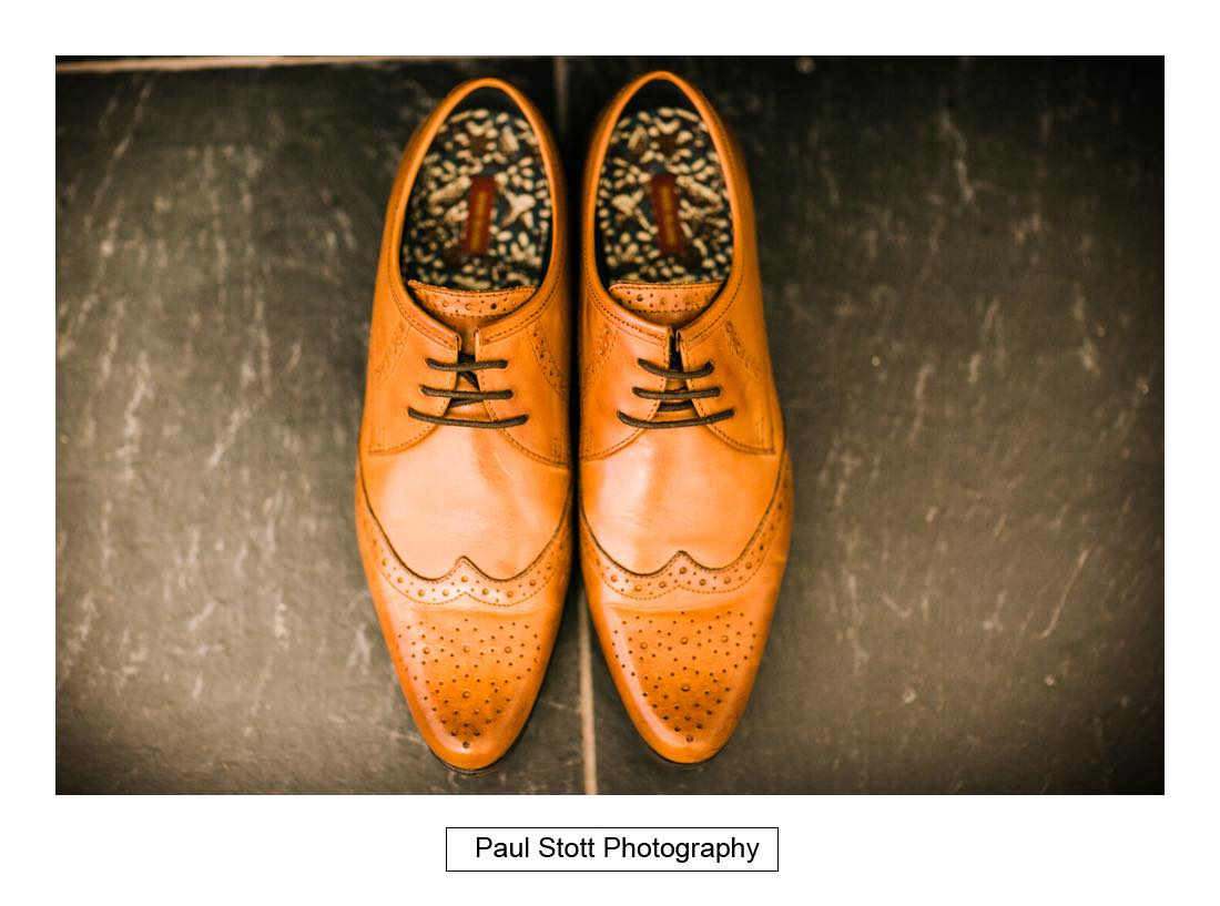 groom shoes - Wedding Photography Shrewsbury Castle - Aprille and Steven