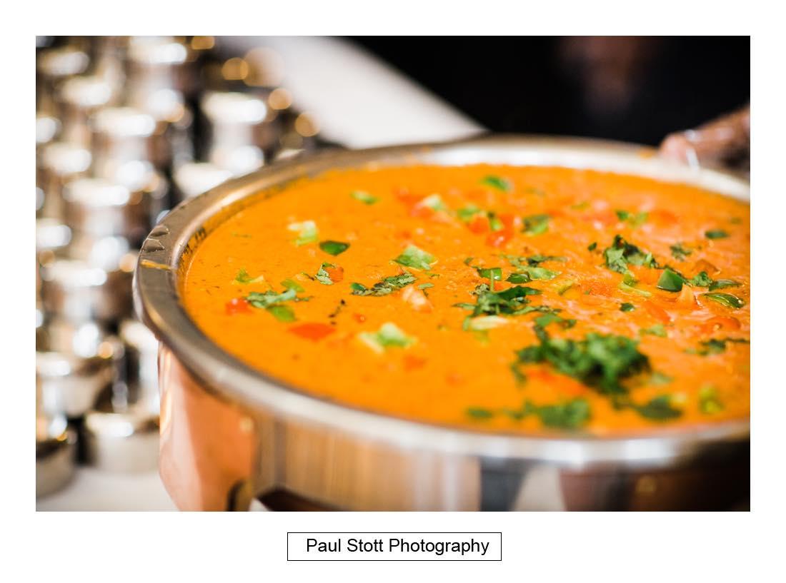 indian food 002 - Wedding Photography Oxford Town Hall - Christian and Radhika
