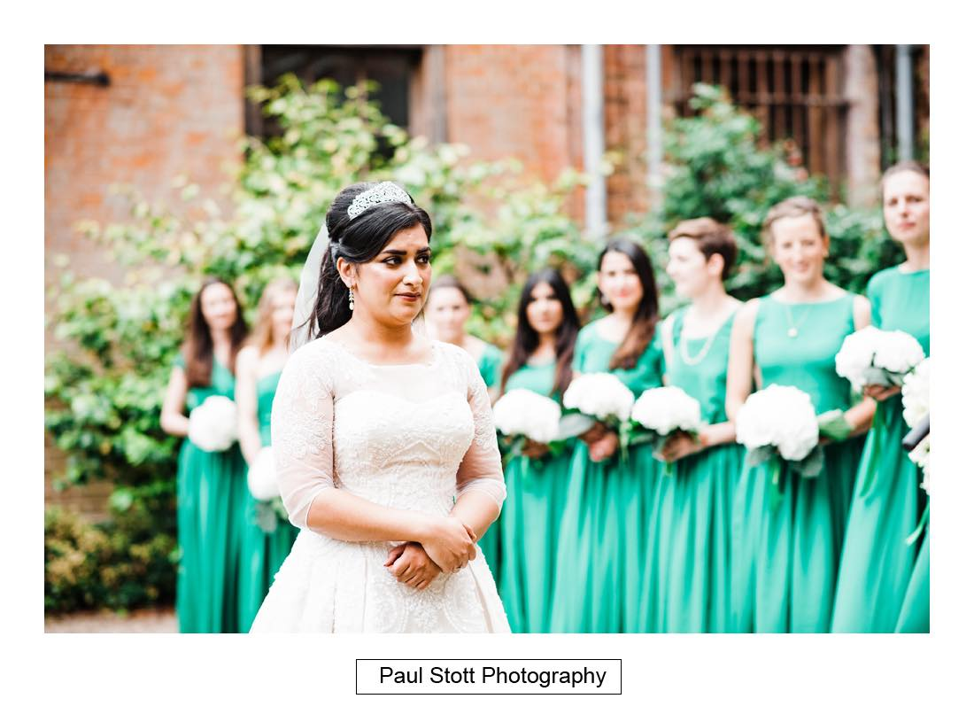 outdoor wedding ceremony capel manor 002 - Wedding Photography Capel Manor - Zaineb and Jonny