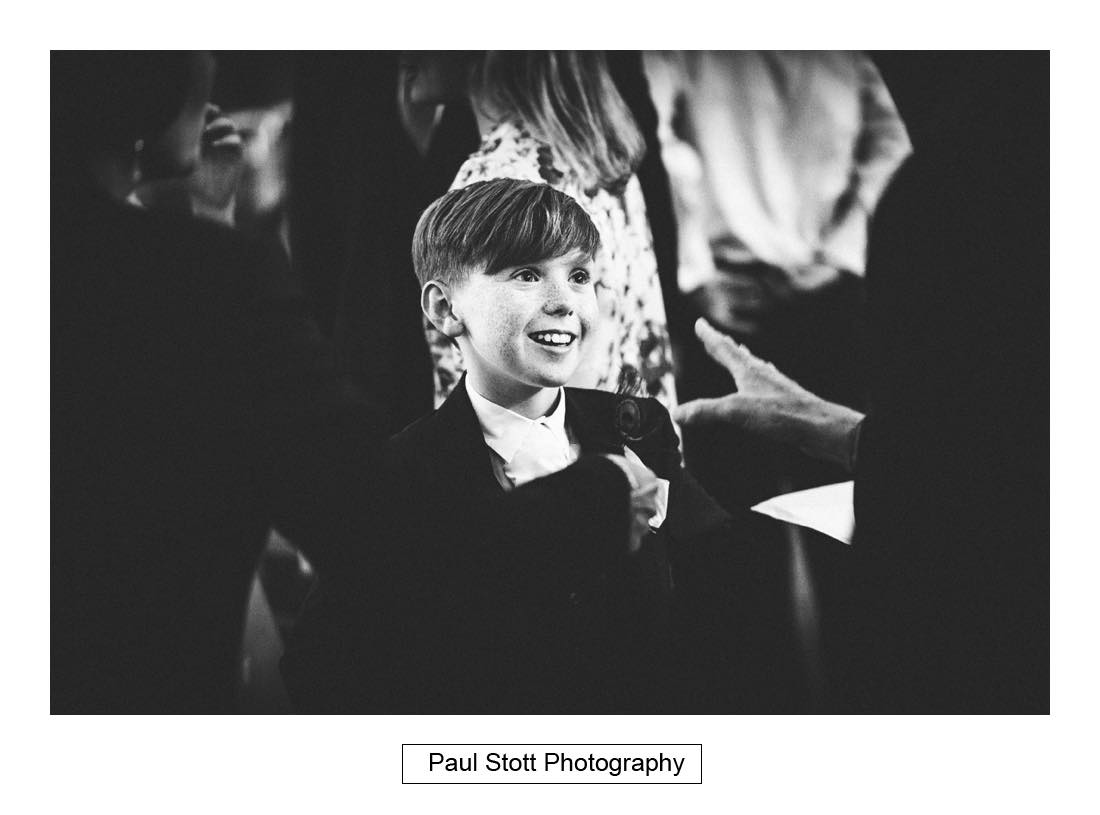 pageboy magician 2 - Sunborn Yacht Wedding Photography - Lisa and Steven