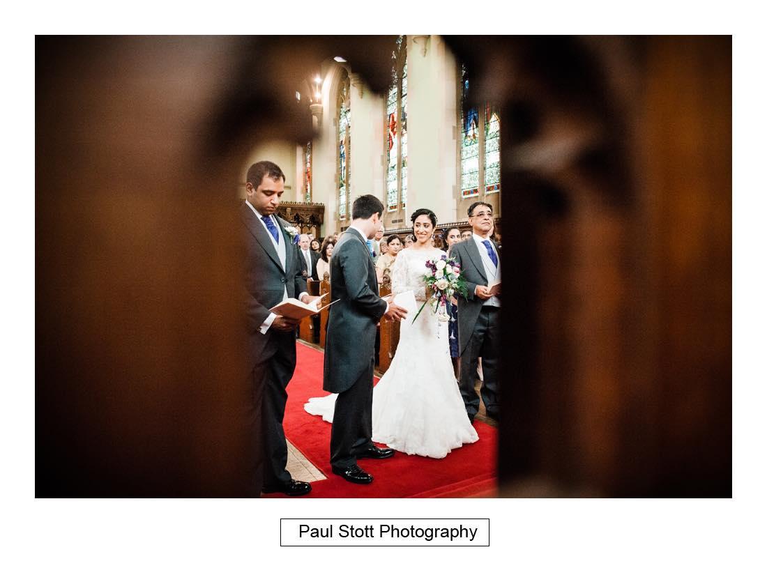 wedding ceremony oxford 001 - Wedding Photography Oxford Town Hall - Christian and Radhika
