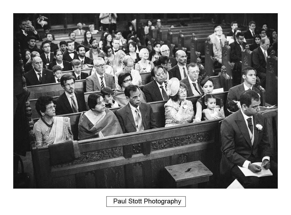 wedding ceremony oxford 002 - Wedding Photography Oxford Town Hall - Christian and Radhika