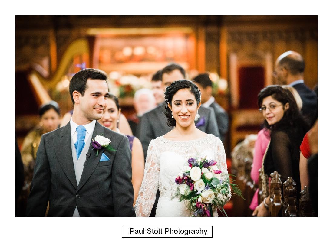 wedding ceremony oxford 004 - Wedding Photography Oxford Town Hall - Christian and Radhika