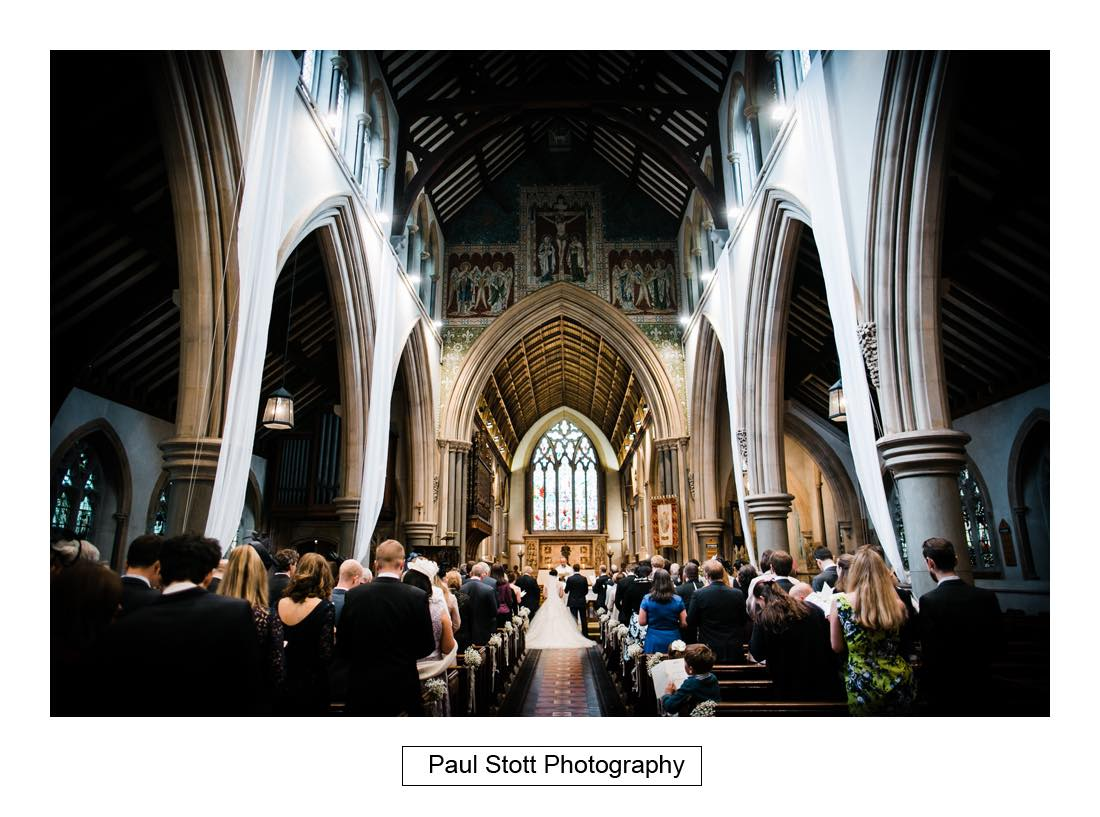wedding ceremony st martins dorking 001 - Wedding Photography Wotton House - Laura and Tim