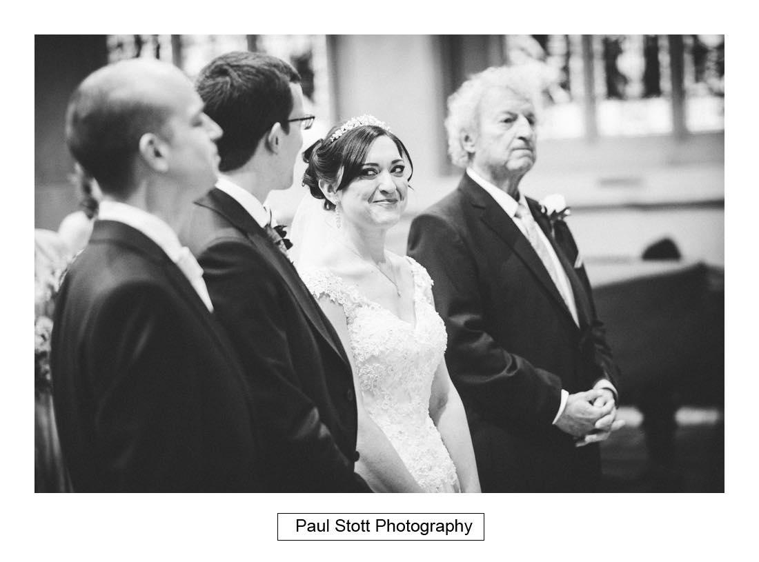 wedding ceremony st martins dorking 002 - Wedding Photography Wotton House - Laura and Tim