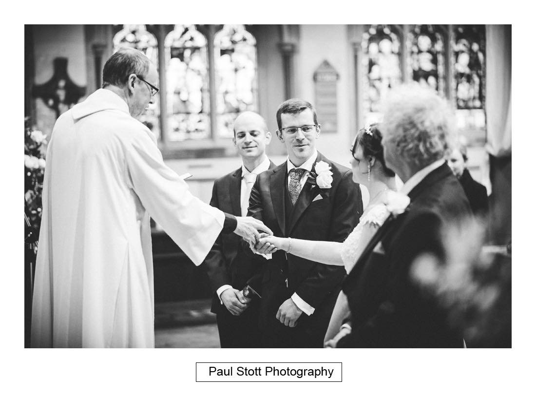 wedding ceremony st martins dorking 004 - Wedding Photography Wotton House - Laura and Tim