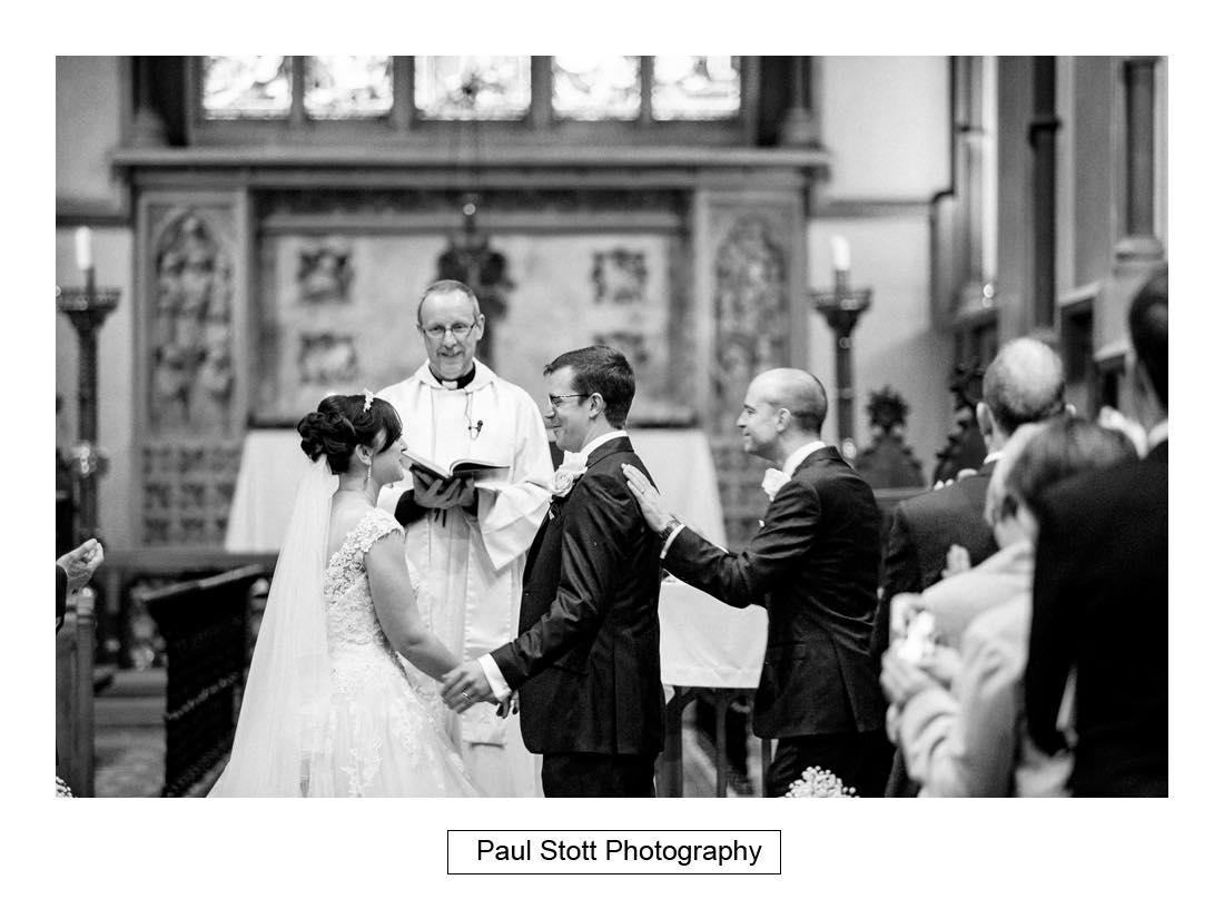 wedding ceremony st martins dorking 005 - Wedding Photography Wotton House - Laura and Tim