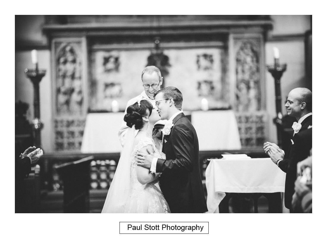 wedding ceremony st martins dorking 006 - Wedding Photography Wotton House - Laura and Tim