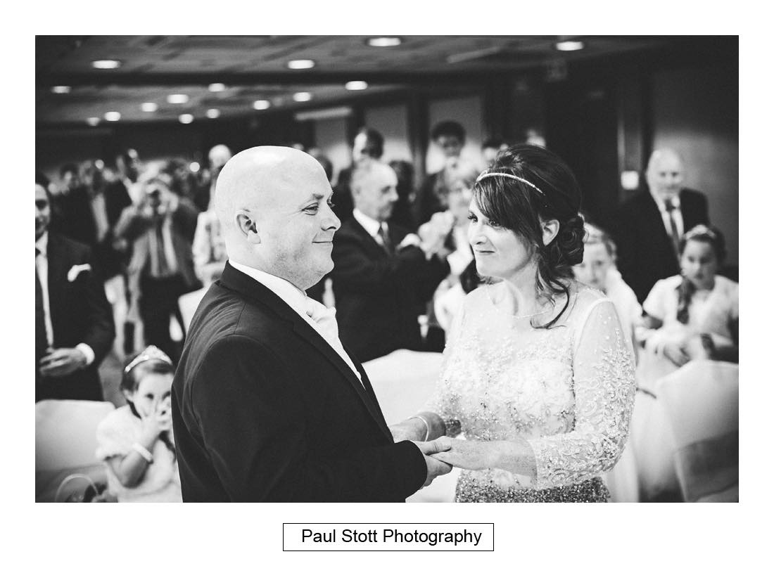 wedding ceremony sunborn yacht 002 2 - Sunborn Yacht Wedding Photography - Lisa and Steven