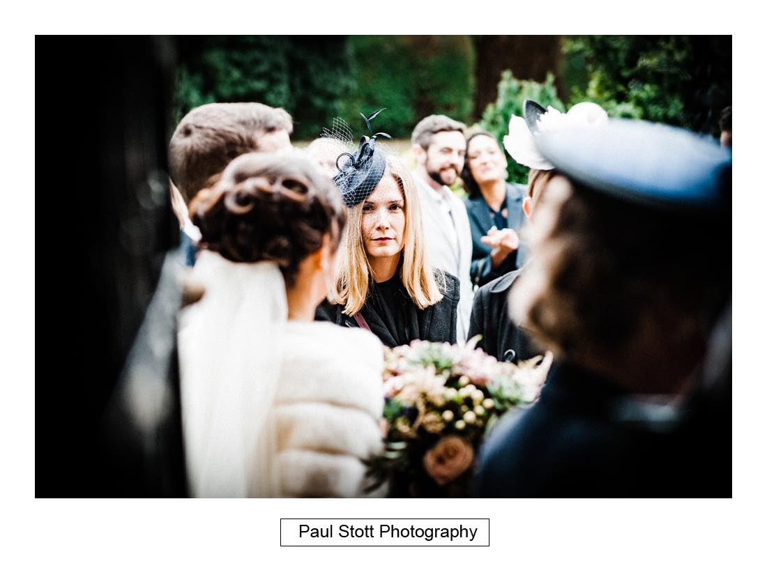 wedding guests 001 2 - Wedding Photography Wotton House - Laura and Tim