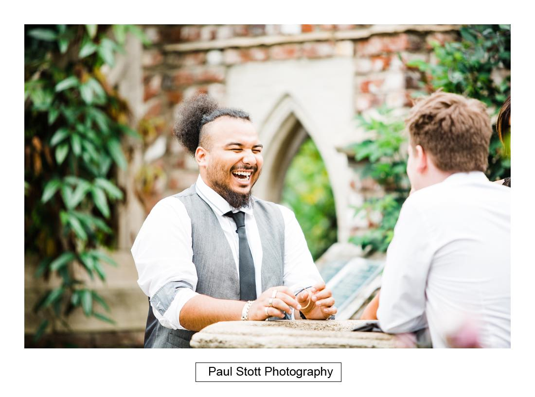 wedding guests 006 - Wedding Photography Capel Manor - Zaineb and Jonny