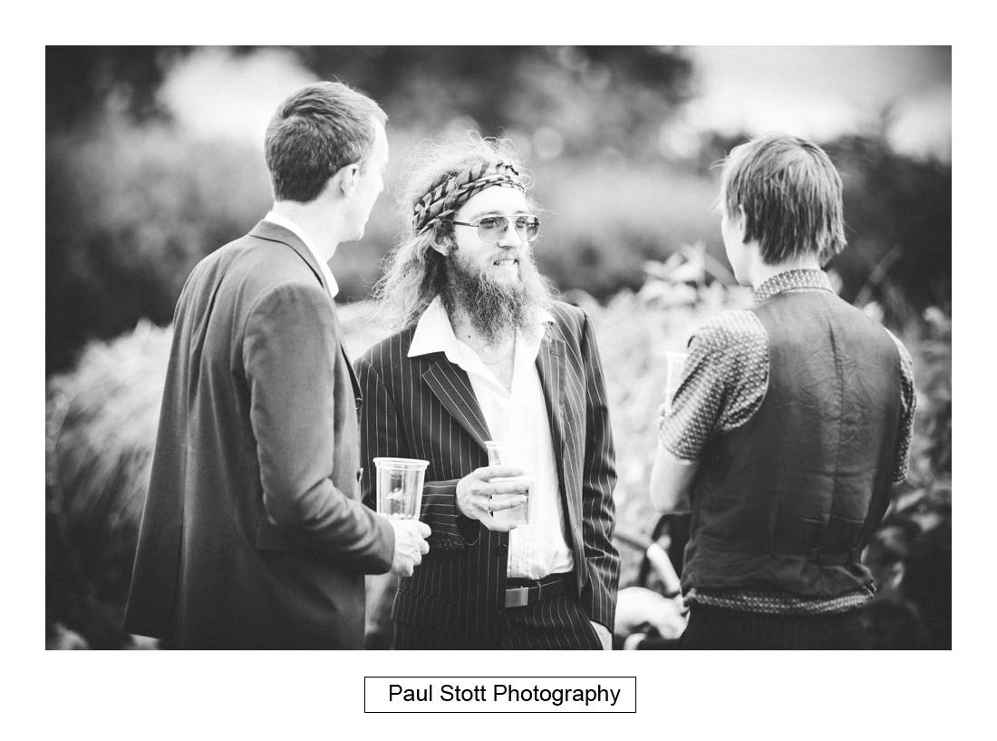 wedding guests 007 - Wedding Photography Capel Manor - Zaineb and Jonny