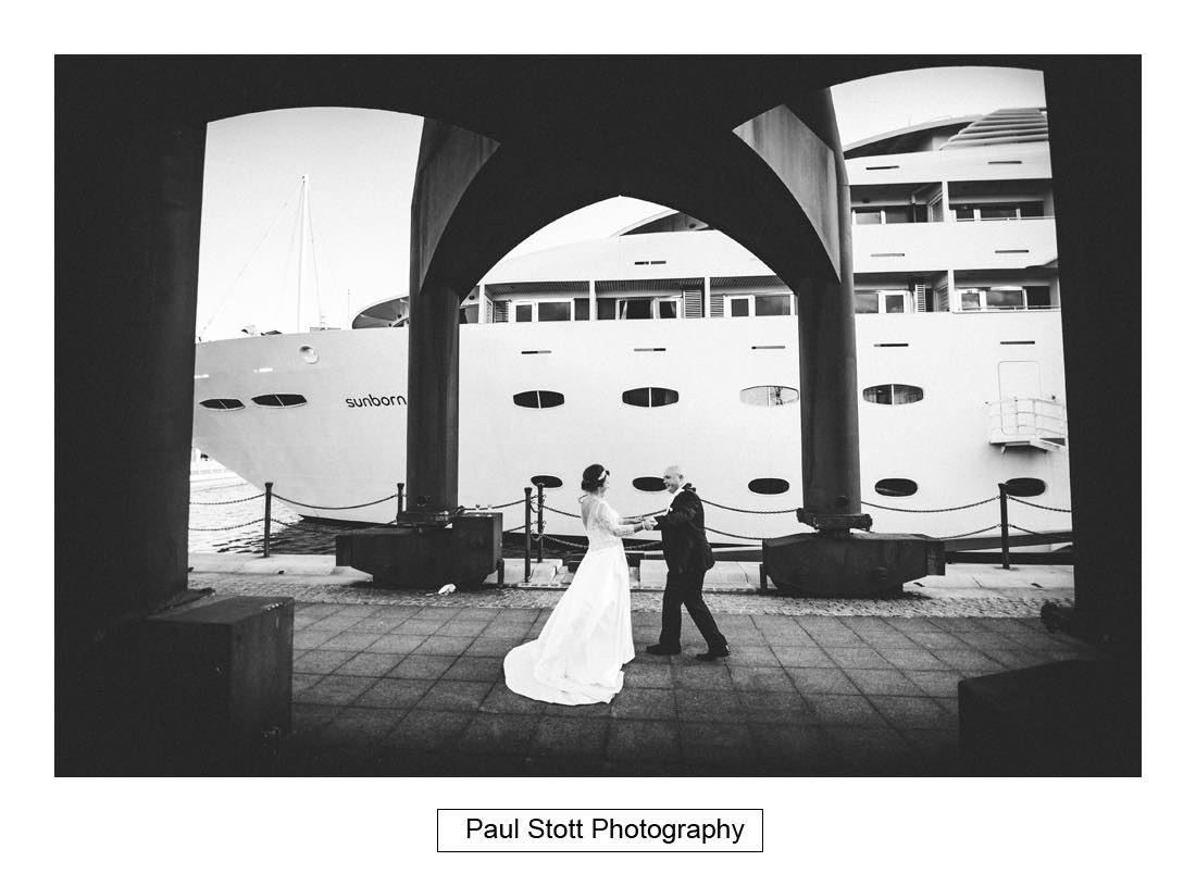 wedding photography sunborn yacht 003 2 - Sunborn Yacht Wedding Photography - Lisa and Steven