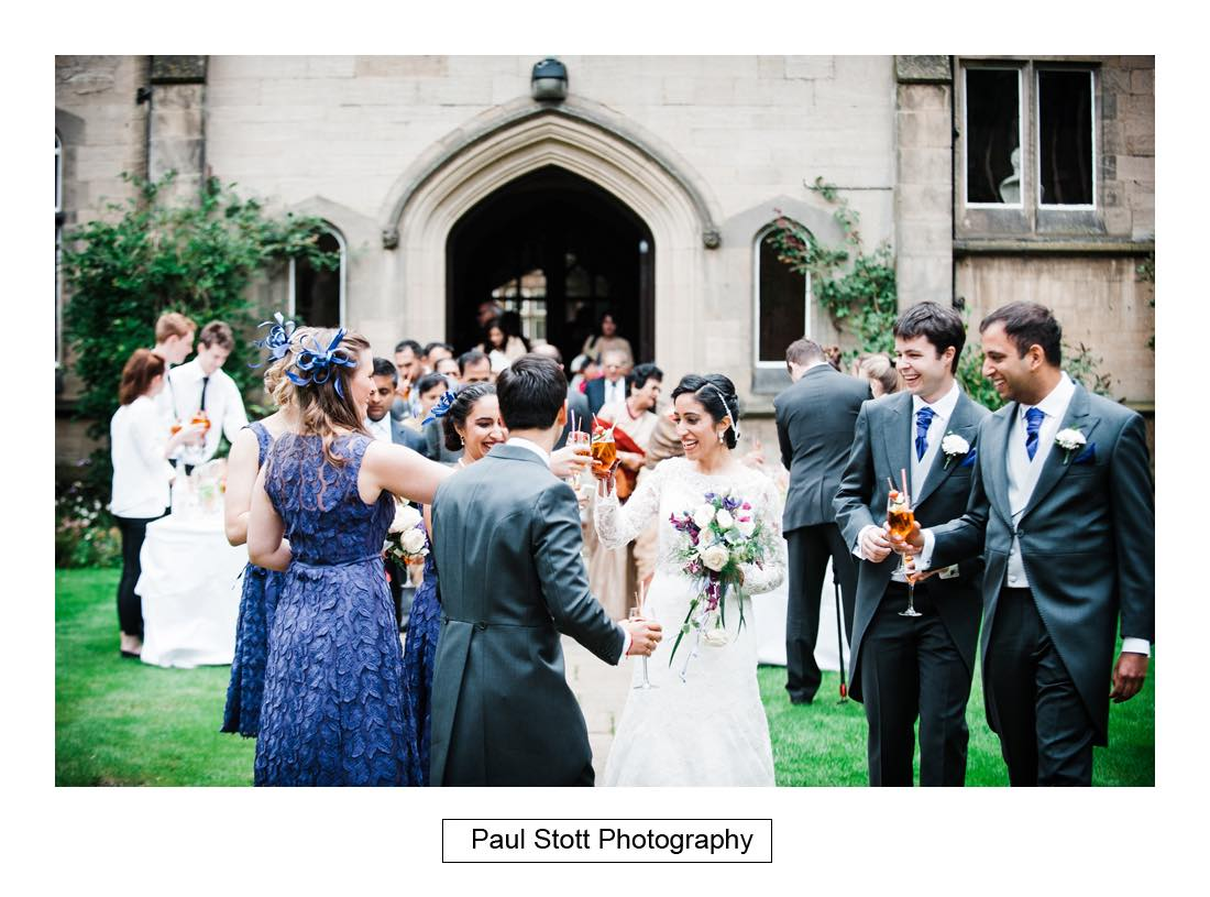 wedding reception oxford harris manchester college 001 - Wedding Photography Oxford Town Hall - Christian and Radhika