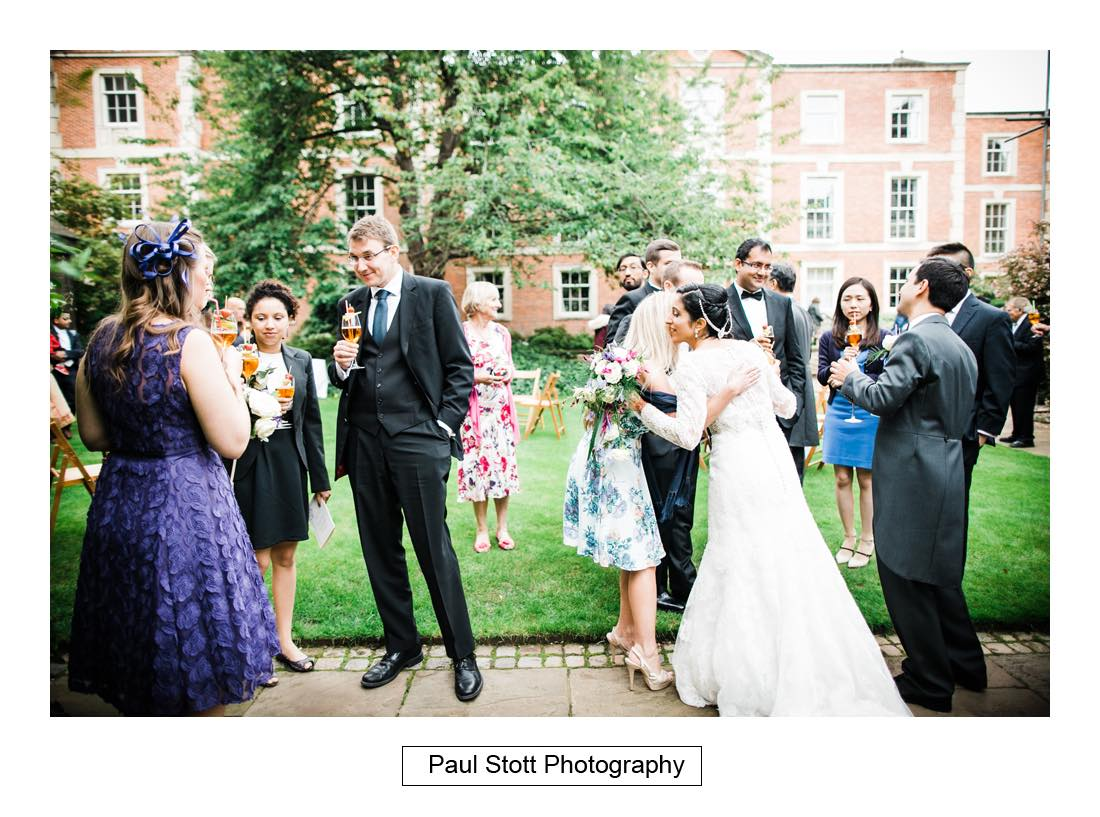 wedding reception oxford harris manchester college 002 - Wedding Photography Oxford Town Hall - Christian and Radhika