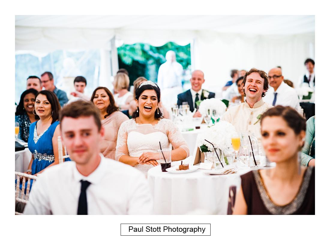 wedding speeches capel manor 001 - Wedding Photography Capel Manor - Zaineb and Jonny