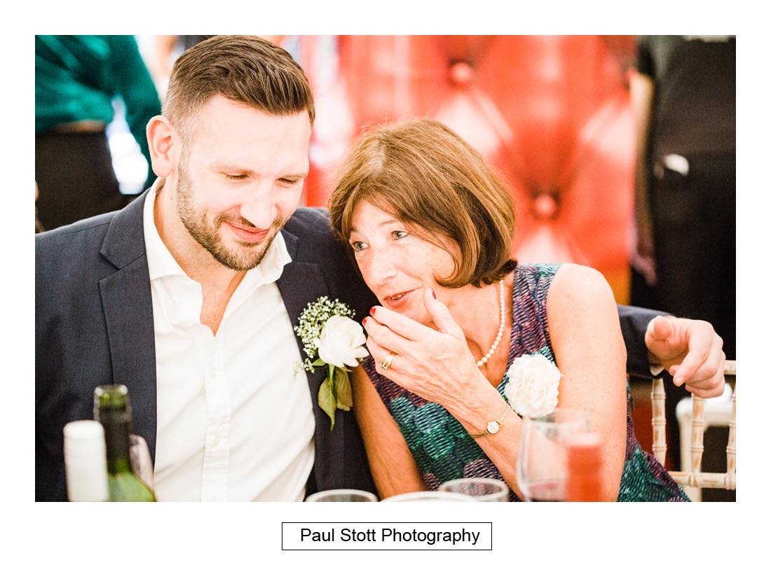 wedding speeches capel manor 003 - Wedding Photography Capel Manor - Zaineb and Jonny