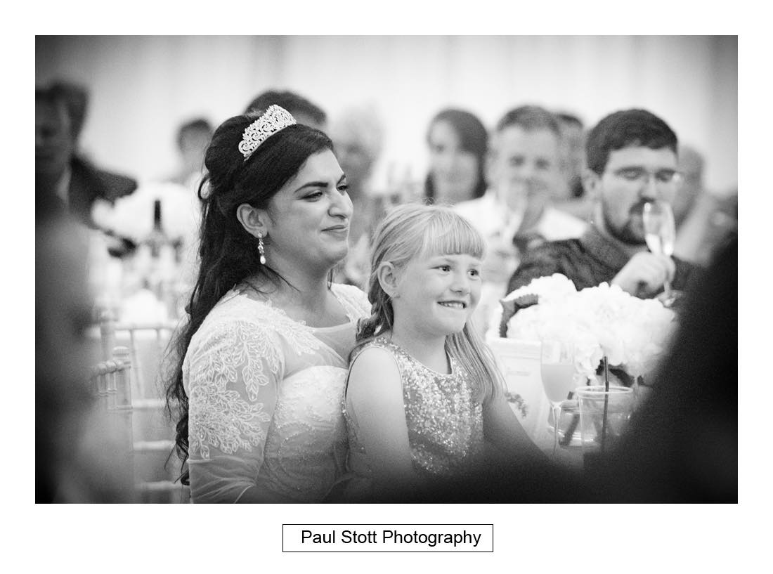 wedding speeches capel manor 006 - Wedding Photography Capel Manor - Zaineb and Jonny