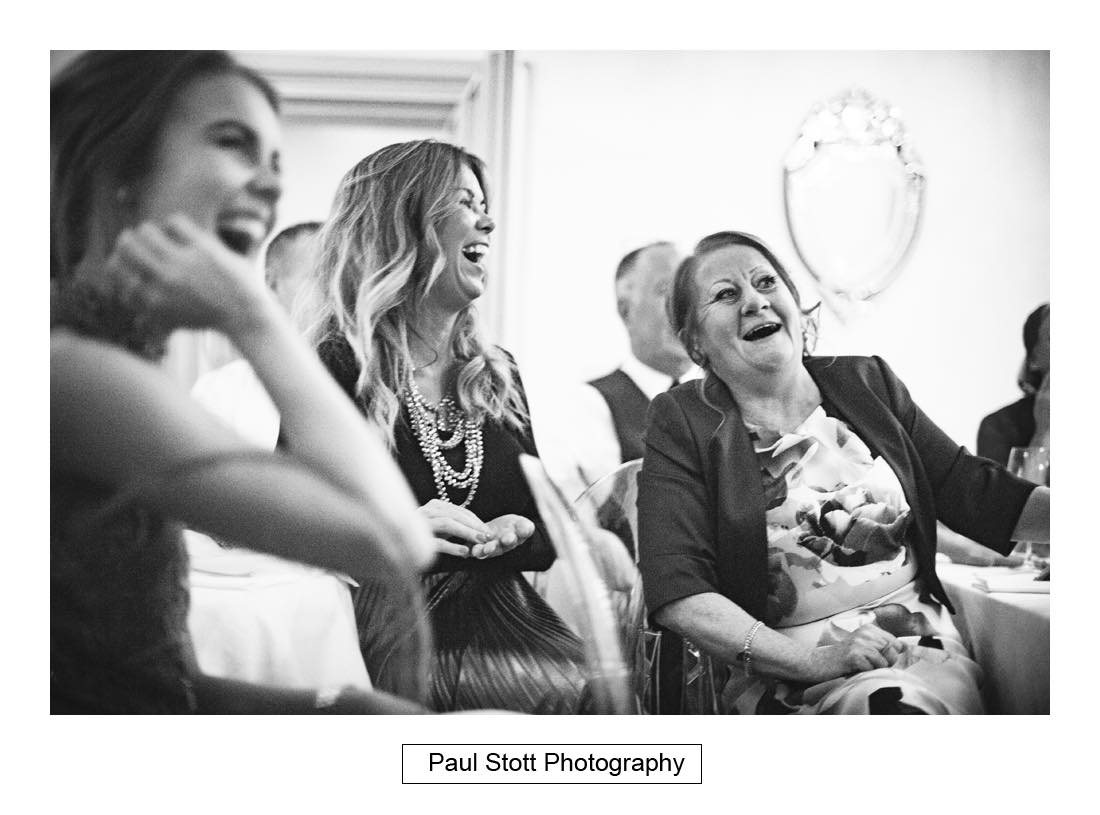 wedding speeches lion pheasant 004 - Wedding Photography Shrewsbury Castle - Aprille and Steven