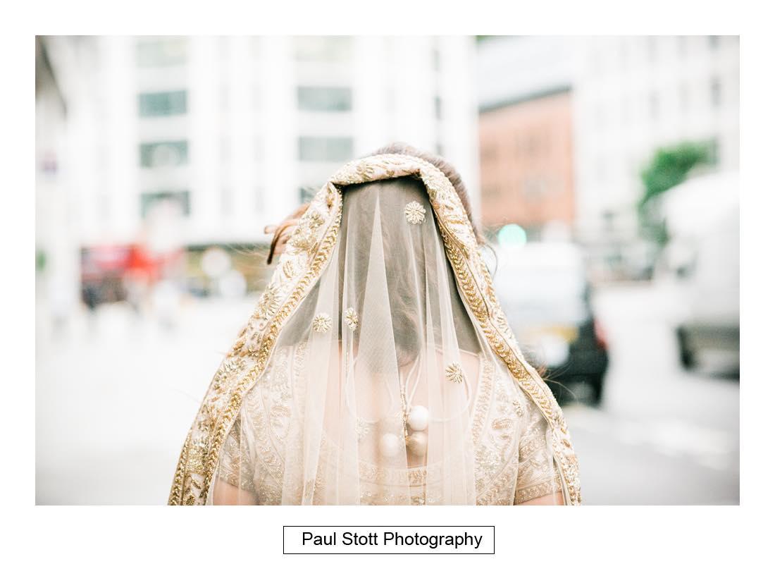 bride groom walking 002 - Wedding Photography Plaisterers Hall - Alvin and Zara