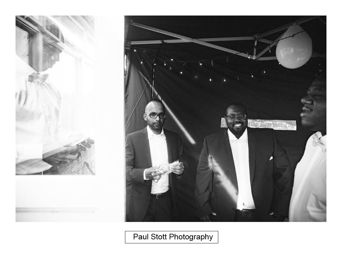 groom wedding preparation 003 - Wedding Photography Plaisterers Hall - Alvin and Zara