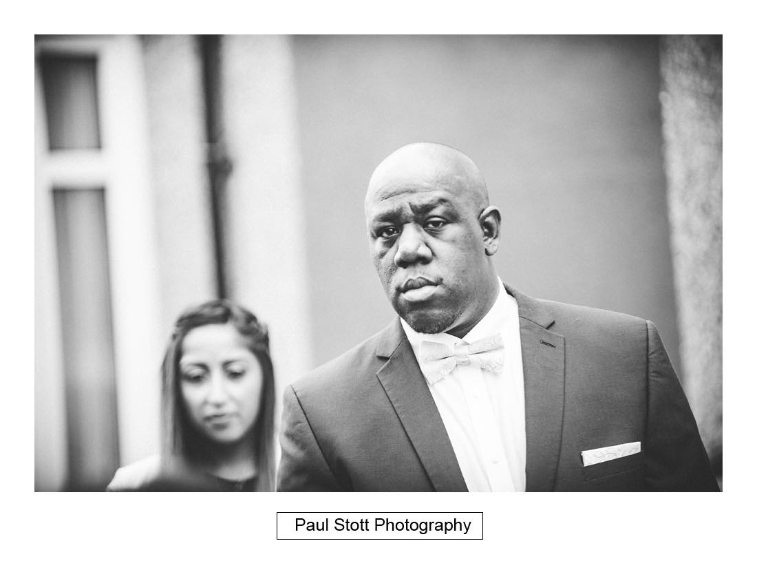 groom wedding preparation 008 - Wedding Photography Plaisterers Hall - Alvin and Zara