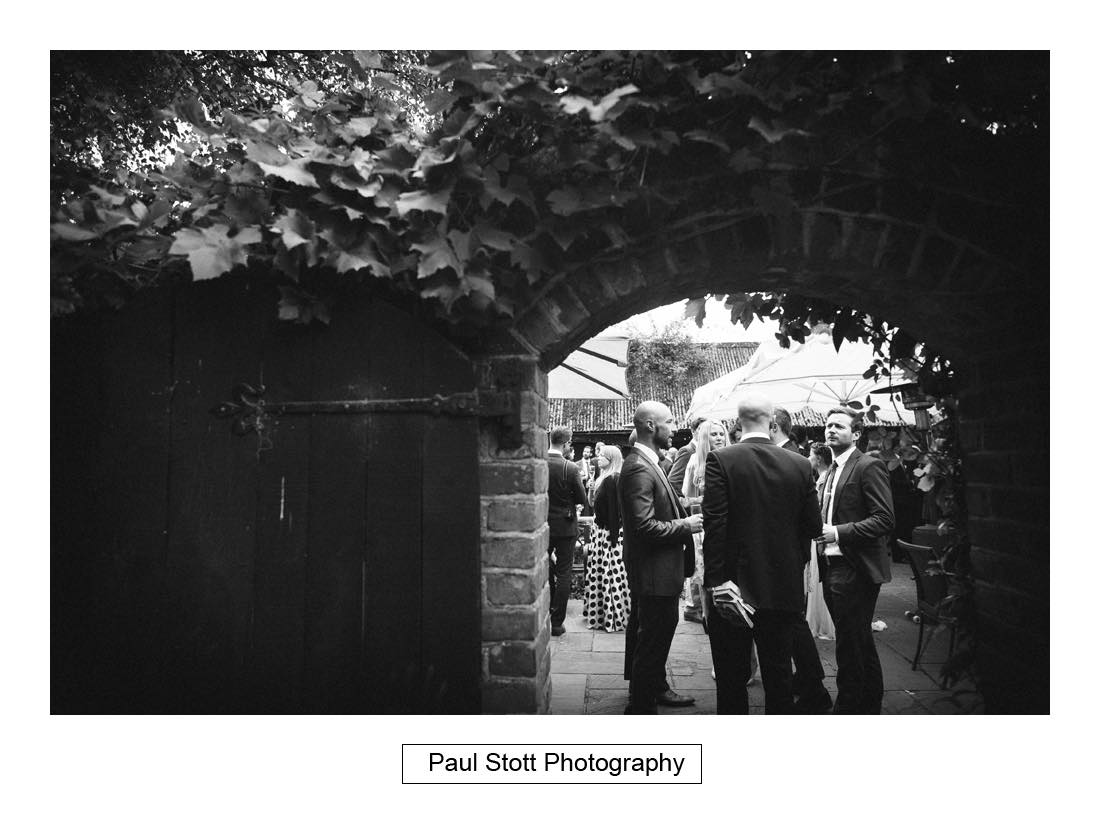 wedding guests st bartholomew barn 003 - Wedding Photography Bartholomew Barn