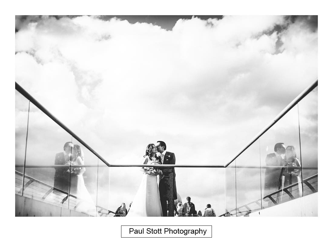 043 wedding photography millenium bridge 009 - Wedding Photography Somerset House - Christina and Colin