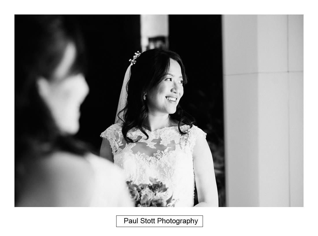 bridal portraits 001 1 - Wedding Photography Somerset House - Christina and Colin