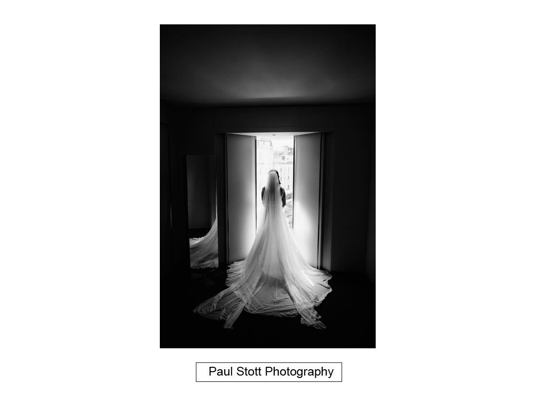 bridal portraits 002 1 - Wedding Photography Somerset House - Christina and Colin