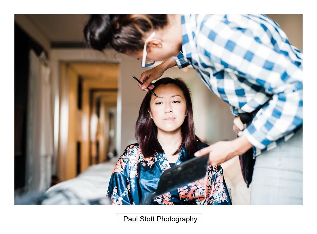 bridal preparation 007 2 - Wedding Photography Somerset House - Christina and Colin