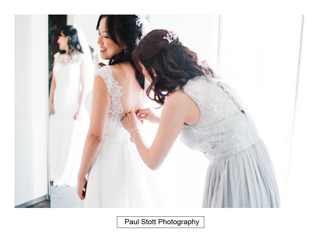 bridal preparation 008 2 - Wedding Photography Somerset House - Christina and Colin