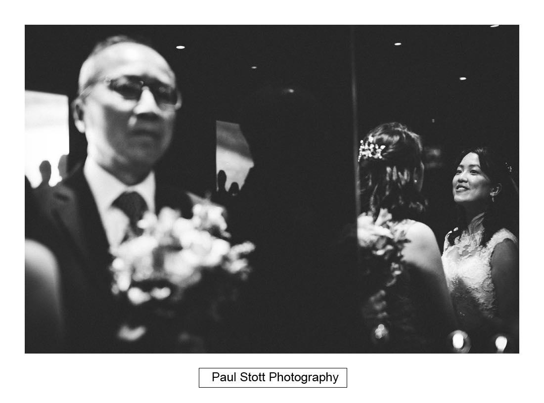 bride father eleavor - Wedding Photography Somerset House - Christina and Colin