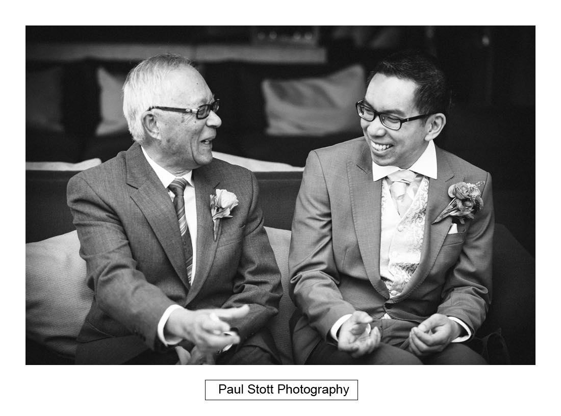 groom father - Wedding Photography Somerset House - Christina and Colin
