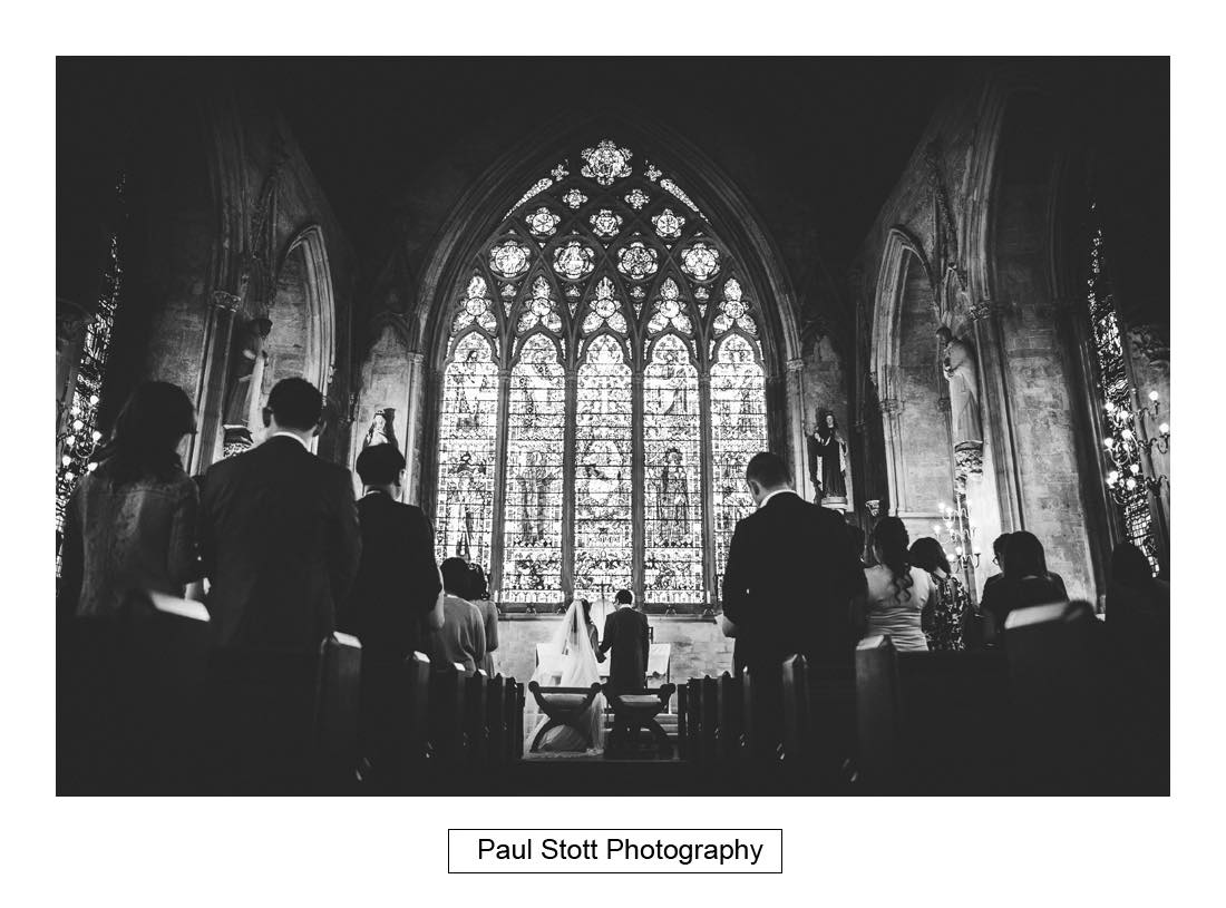 wedding ceremony St Etheldreda 001 - Wedding Photography Somerset House - Christina and Colin