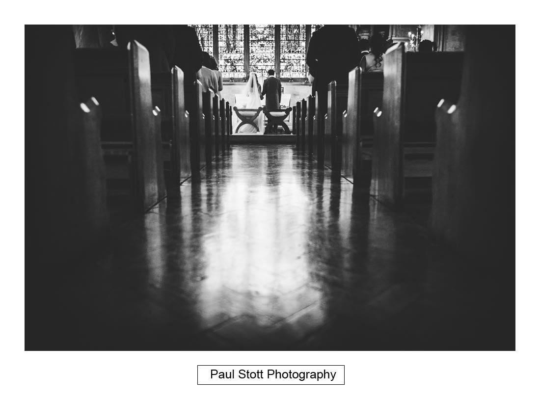 wedding ceremony St Etheldreda 002 - Wedding Photography Somerset House - Christina and Colin