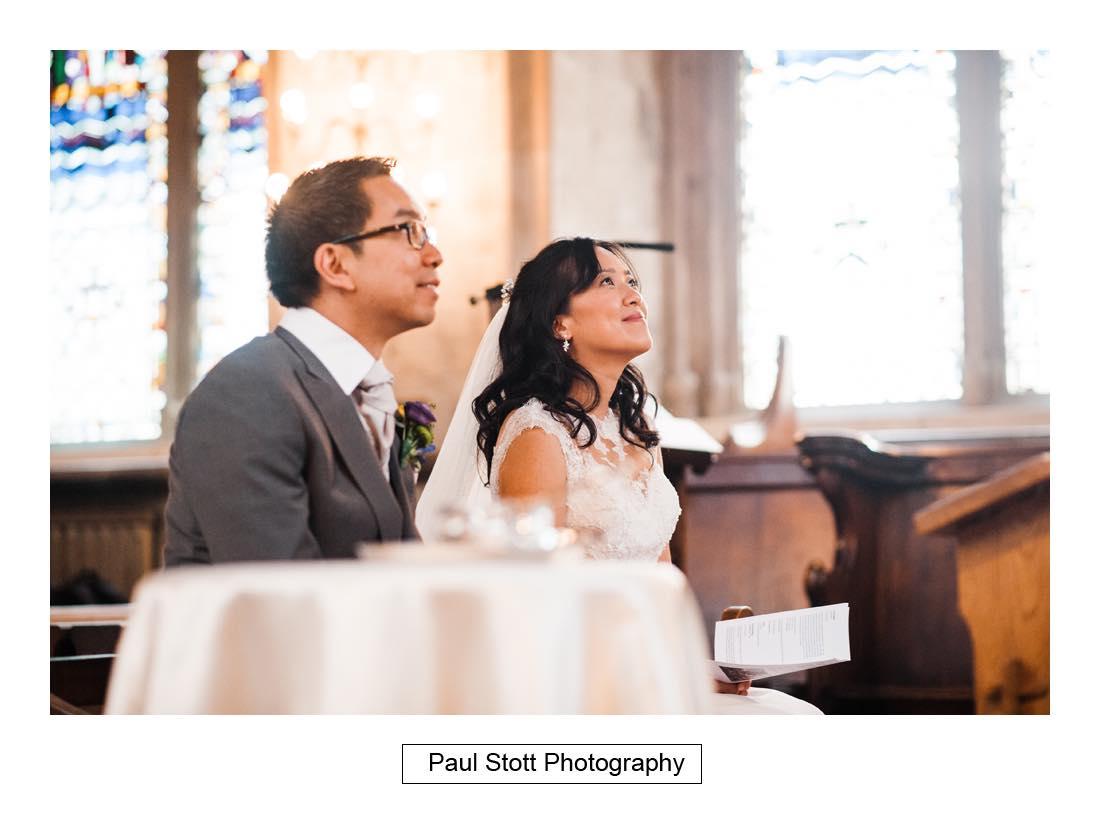 wedding ceremony St Etheldreda 006 - Wedding Photography Somerset House - Christina and Colin