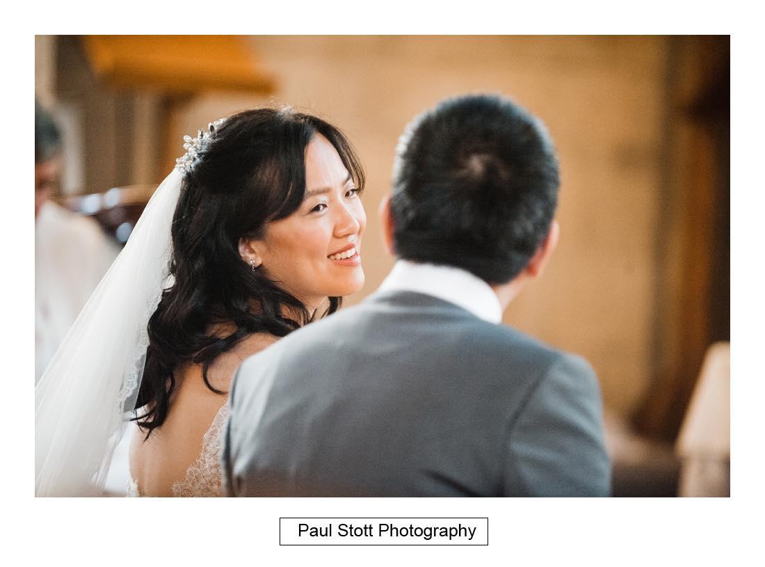 wedding ceremony St Etheldreda 007 - Wedding Photography Somerset House - Christina and Colin