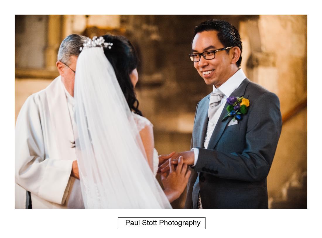 wedding ceremony St Etheldreda 008 - Wedding Photography Somerset House - Christina and Colin