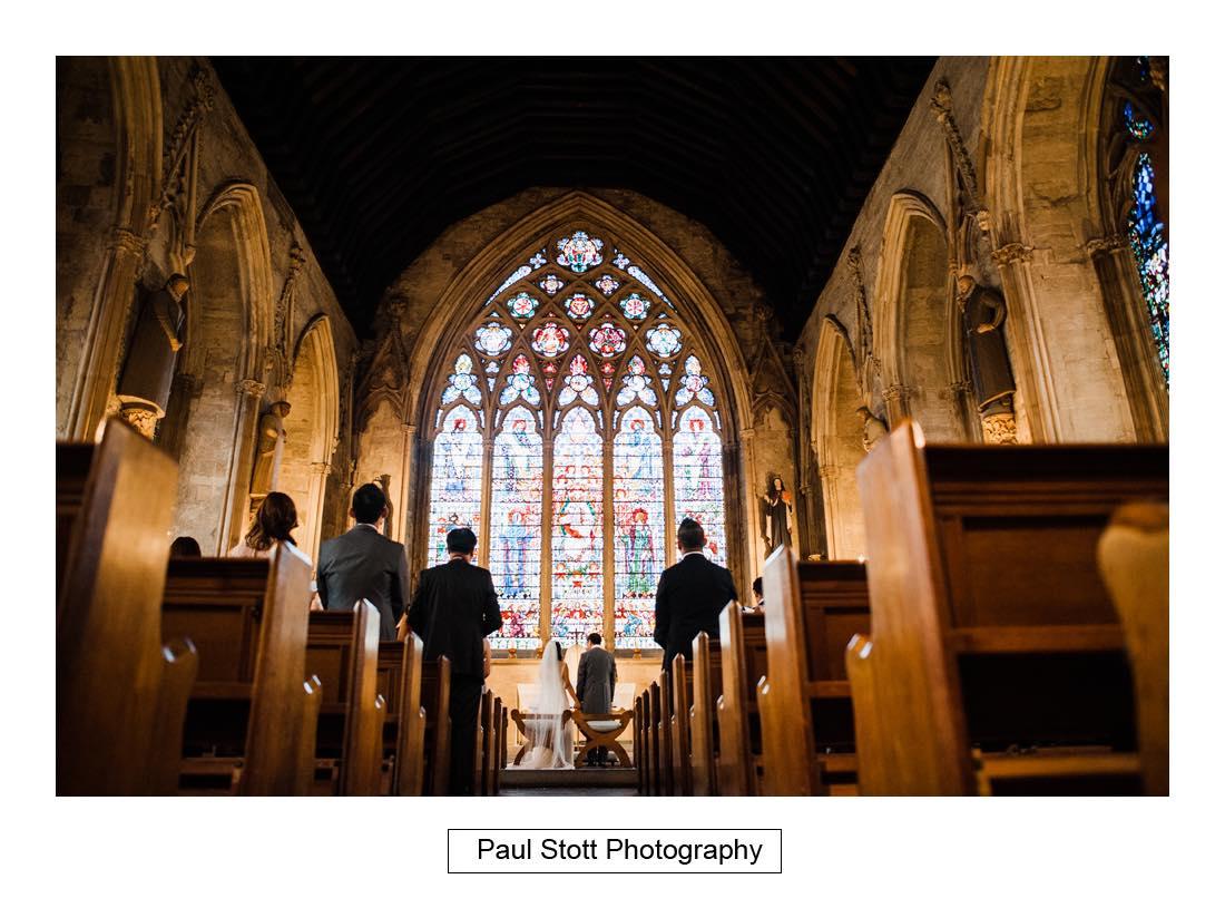 wedding ceremony St Etheldreda 009 - Wedding Photography Somerset House - Christina and Colin