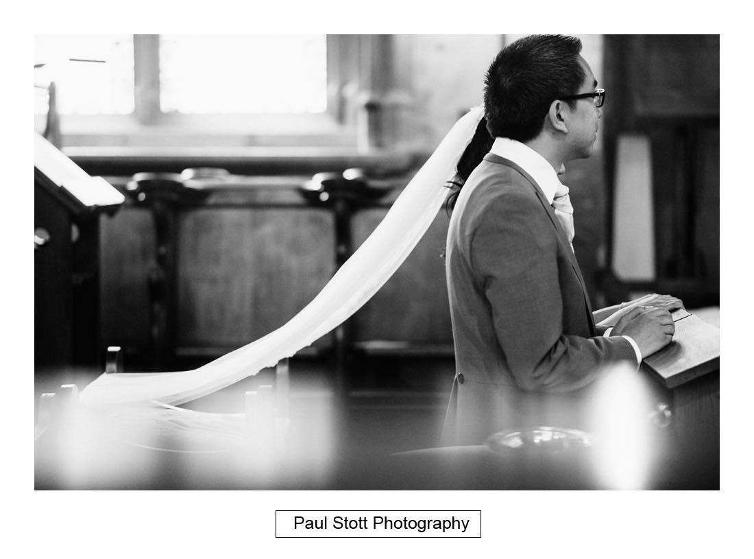 wedding ceremony St Etheldreda 010 - Wedding Photography Somerset House - Christina and Colin