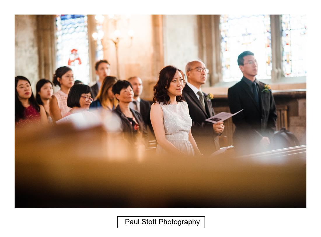 wedding ceremony St Etheldreda 011 - Wedding Photography Somerset House - Christina and Colin